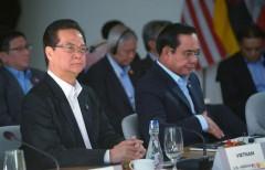 Thủ tướng VN Nguyễn Tấn Dũng (trái) tại Thượng Đỉnh Mỹ - ASEAN tại California hôm 15/2/2016. Ảnh AFP
