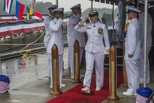 Bà Amy Graham (Ảnh: public.navy.mil).