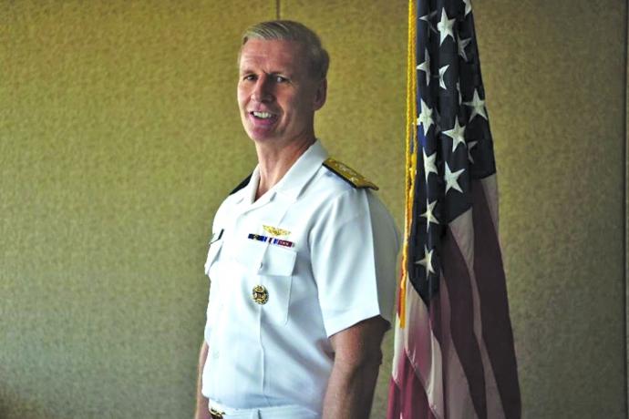 Phó Đô đốc Joseph Aucoin. Ảnh baogiaothong