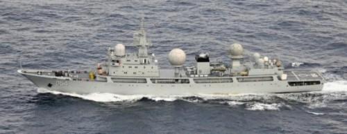 Báo Nhật:TQ lợi dụng tình hình Triều Tiên để triển khai tàu tình báo - Ảnh 1