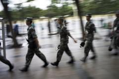 """Ông Tôn Tư Kính, Chính ủy Bộ đội Cảnh sát Vũ trang Trung Quốc cho biết, sẽ đưa ra Dự thảo Nghị quyết sửa đổi """"Luật Bộ đội Cảnh sát Vũ trang"""", đảm bảo mọi vấn đề quan trọng của Bộ đội Cảnh sát Vũ trang sẽ do ông Tập Cận Bình chỉ huy (Ảnh: Getty Images)"""