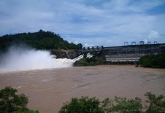 Một đập nước của Lào trên sông Mekong. Ảnh: Nikkei - vnexpress