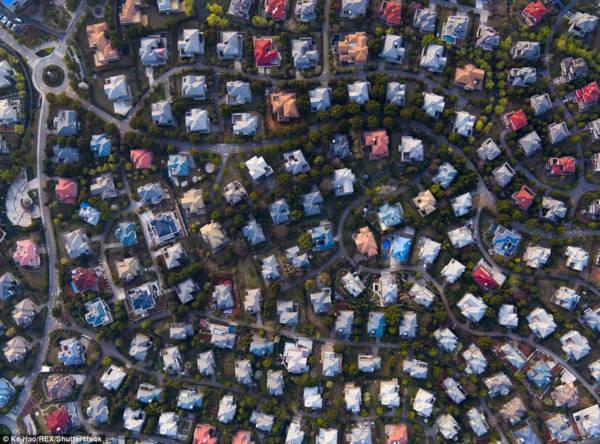 Hoa mày chóng mặt với hàng nghìn căn biệt thự san sát ở Trung Quốc - Ảnh 7.