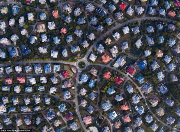 Hoa mày chóng mặt với hàng nghìn căn biệt thự san sát ở Trung Quốc - Ảnh 8.