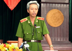 Thiếu tướng Phan Anh Minh - Phó giám đốc Công an TP HCM. Ảnh: H.C - vnexpress