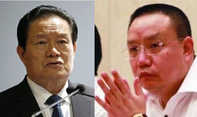 Chu Vĩnh Khang (trái) và Chu Tân
