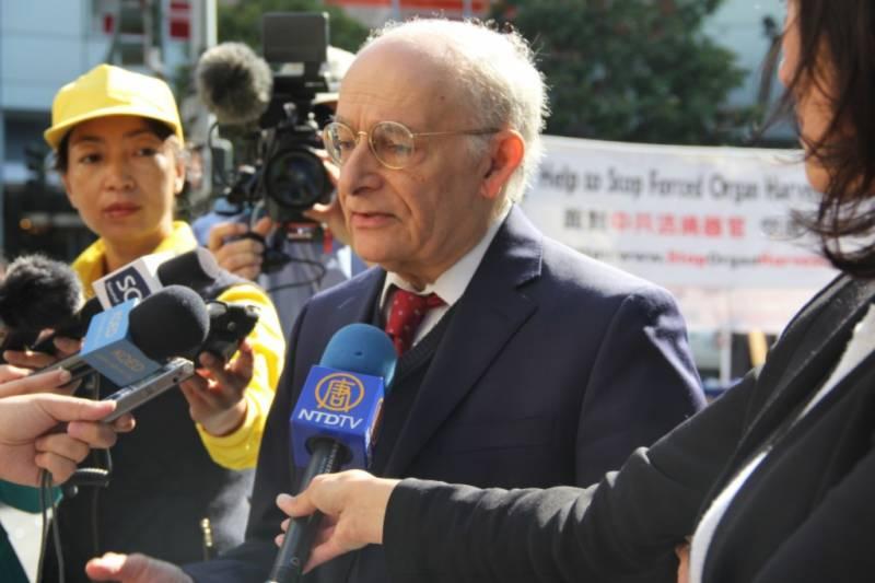 Luật sư David Matas. Ảnh Epochtimes