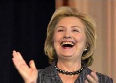Bà Hillary Clintin ứng viên đảng dân chủ. Ảnh Politicususa