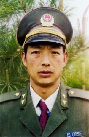 Cảnh sát Trần Trung Giám bị xử tù 6 năm (Ảnh: mạng Minh Huệ).