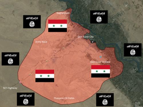 Syria: IS chiếm quận công nghiệp chiến lược ở Deir Ezzor [VIDEO] - Ảnh 2