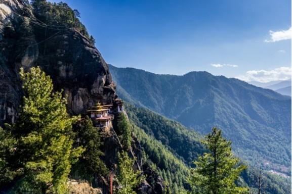 Bhutan hap thu khi carbon