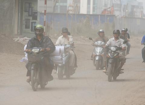 Sức khỏe người dân ảnh hưởng do chất lượng không khí ở Việt Nam không đảm bảo. Ảnh: Lê Hiếu - vnexpress.net