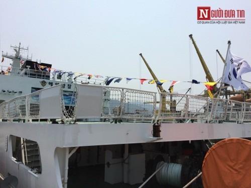 Tàu huấn luyện trên biển của Hàn Quốc ghé thăm Đà Nẵng - Ảnh 4