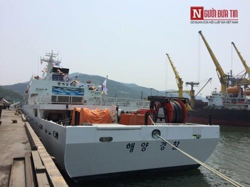 Tàu huấn luyện trên biển của Hàn Quốc ghé thăm Đà Nẵng - Ảnh 5