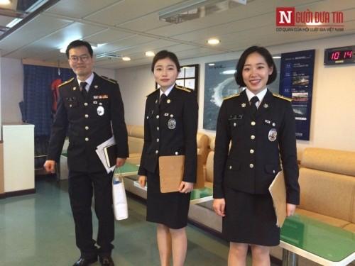Tàu huấn luyện trên biển của Hàn Quốc ghé thăm Đà Nẵng - Ảnh 6
