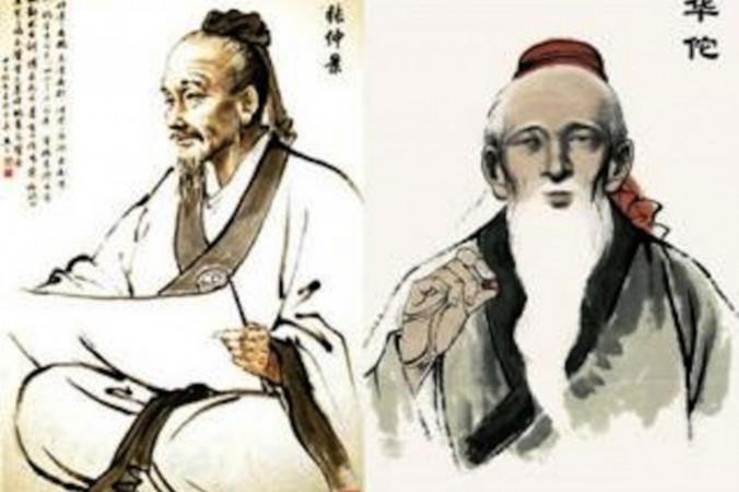 Trương Trọng Cảnh và Hoa Đà, hai Đại Danh Y thời nhà Hán được cho là có khả năng siêu thường. (KanZongGuo.com)