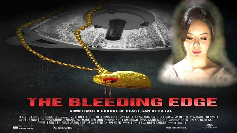 Poster bộ phim Lưỡi dao rỉ máu với diễn xuất của Hoa hậu Thế giới Canada Anastasia Lin. (Ảnh: Internet)