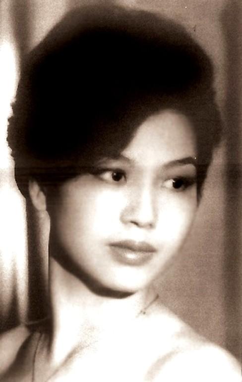 Hoa hậu đầu tiên của Việt Nam (1955), hiện tại là TS sử học Thu Trang. (Ảnh tư liệu)