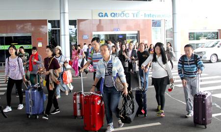 Khách du lịch Trung Quốc đến Nha Trang - Khánh Hòa ngày càng tăng. Ảnh Trang thông tin điện tử Báo Khánh Hòa