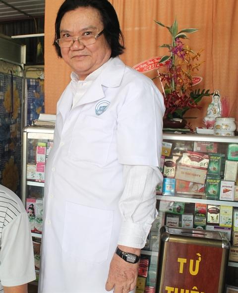 Lương y Lương Bình. Ảnh phunuonline.com.vn