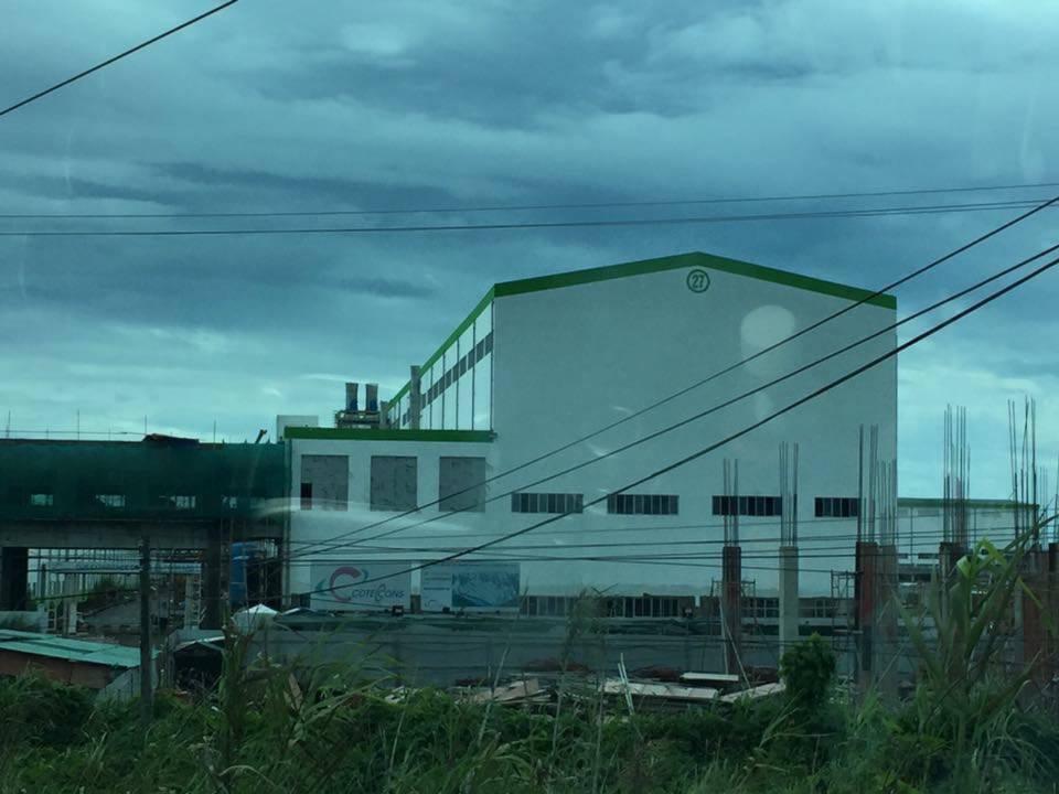 Nhà máy giấy (bột giấy) của Công ty giấy Lee & Man Việt Nam