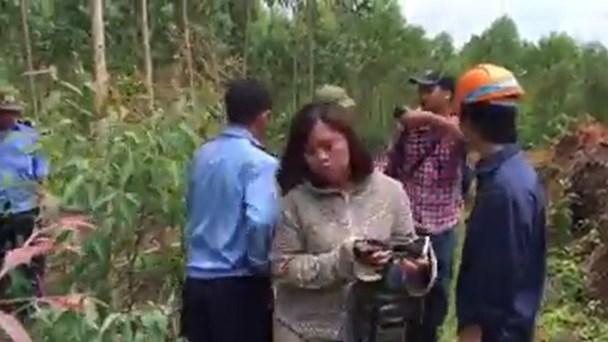 Nhóm bảo vệ xuất hiện lớn tiếng chửi bới phóng viên