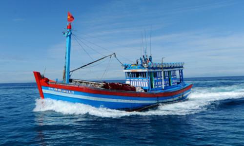 Một tàu cá của Việt Nam. Ảnh: Trí Tín.
