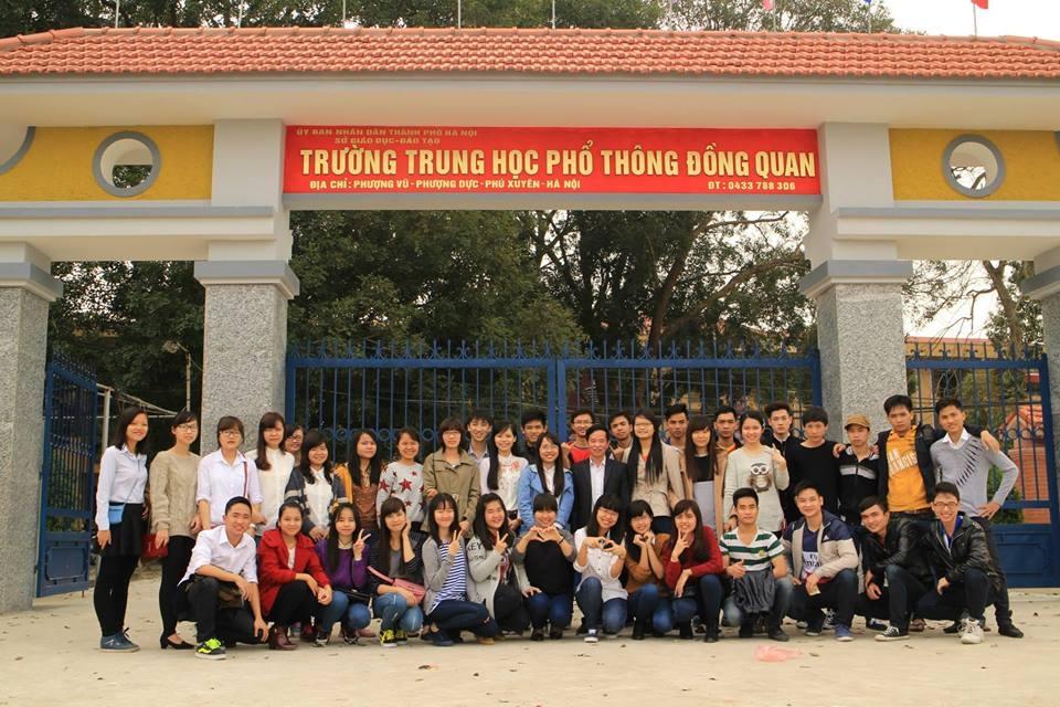 Trường THPT Đồng Quan. Ảnh lấy từ website của trường