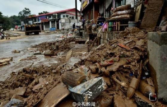 xả đập không báo trước, Lũ lụt Trung Quốc,