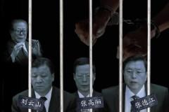 Vây cánh của Giang Trạch Dân lần lượt vào tù. Ảnh pochtimes.com
