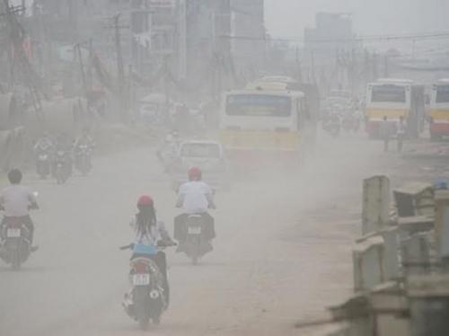 Ô nhiễm không khí. Ảnh internet