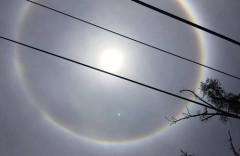 Người xem quan sát quầng mặt trời bằng mắt thường anh: Sinh Anh - vnexpress.net