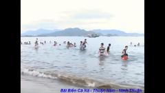 Bãi biển Cà Ná. Ảnh lấy từ youtube