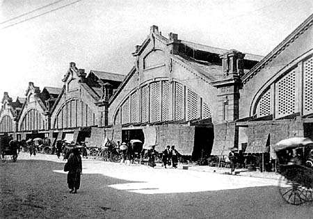 Chợ Đồng Xuân đầu thế kỷ 20