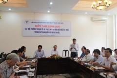 Diễn đàn của Liên hiệp hội Việt Nam. Ảnh: Nguyễn Hoàn - baodatviet.vn