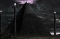 Kim tự tháp màu đen