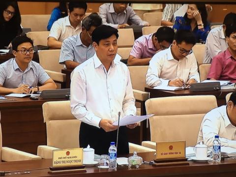 Thứ trưởng Bộ GTVT Nguyễn Ngọc Đông. Ảnh baodatviet.vn