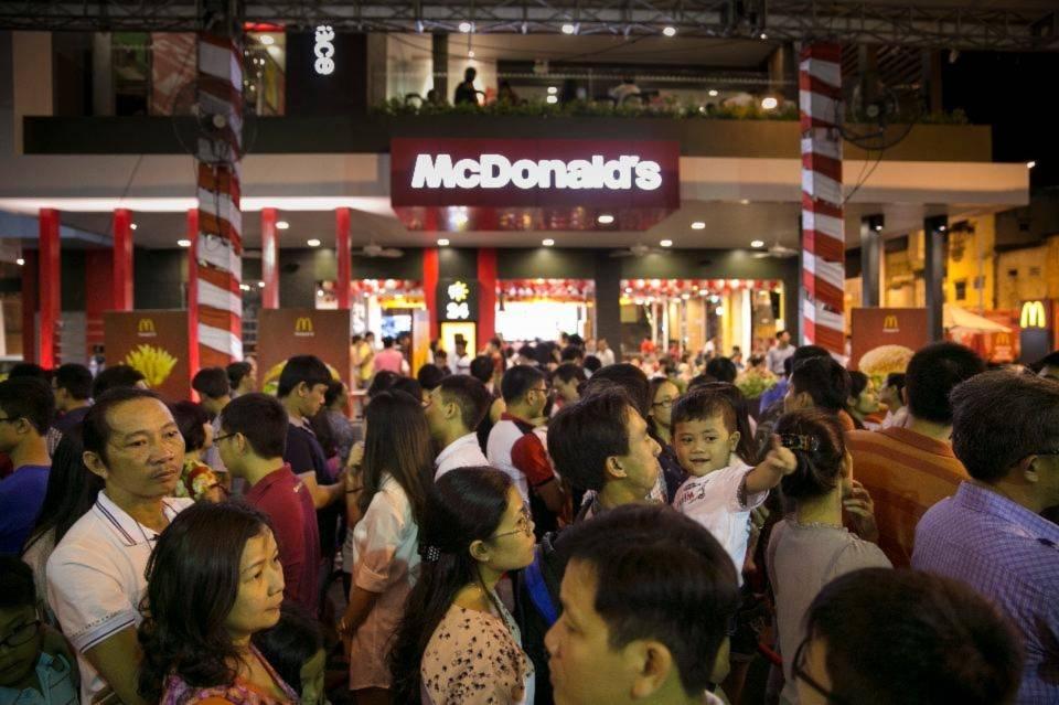 Kết quả hình ảnh cho Các thương hiệu quốc tế thay đổi thói quen ăn uống của người Việt