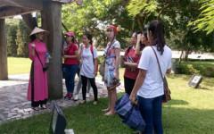 Sinh viên Mỹ có nhiều trải nghiệm về văn hóa - xã hội Việt Nam trong những chương trình giao lưu (Ảnh: Ban tổ chức/VOV)