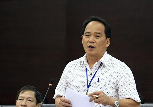 Phó giám đốc Sở Nội vụ Đà Nẵng Nguyễn Thương cho biết thành phố còn 600 người hợp đồng nên rất khó giải quyết bài toán vào biên chế. Ảnh: Nguyễn Đông - vnexpress.net