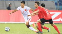 Trước khi dự vòng chung kết U19 châu Á, Việt Nam giành vị trí thứ ba tại giải U19 Đông Nam Á. Ảnh: VFF
