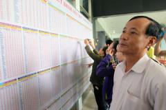 Hơn 100.000 vé tàu Tết đang chờ người mua. Ảnh nld.com.vn