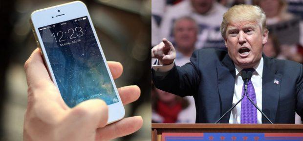 """Điện thoại iPhone là một trong hàng loạt mặt hàng của Mỹ sẽ bị Trung Quốc cắt giảm mạnh nếu ông Donald Trump muốn khơi mào """"chiến tranh thương mại"""" bằng thuế suất cao đánh vào hàng hóa nhập khẩu từ nước này. (CNBC)"""
