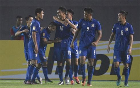 cap nhat bang xep hang aff cup 2016 thai lan nhat bang a viet nam nhi bang b hinh 1