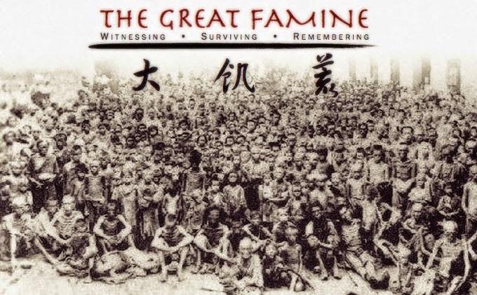 Nạn đói lớn tại Trung Quốc những năm 1942 – 1962. (Ảnh: Internet)