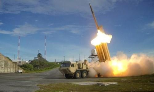 Hệ thống phòng thủ tên lửa THAAD. Ảnh: Reuters.