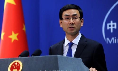 Cảnh Sảng, phát ngôn viên Bộ Ngoại giao Trung Quốc. Ảnh: