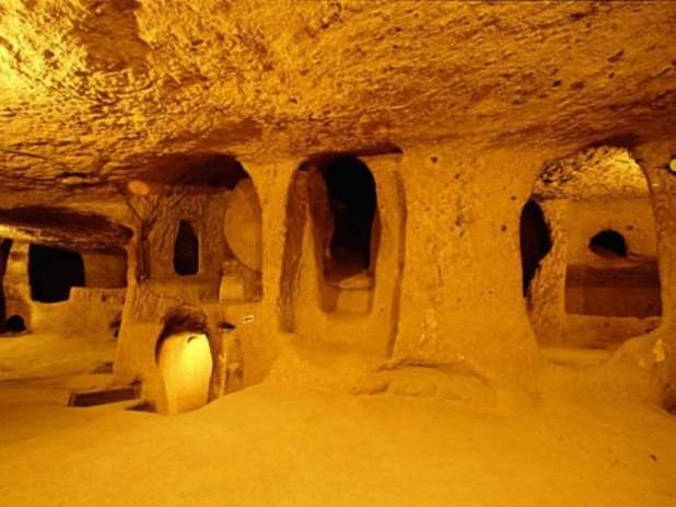 xuyên Châu Âu, ệ thống đường hầm, Bài chọn lọc, 12.000 năm tuổi,