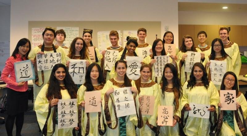 Các sinh viên phương Tây bị cuốn hút bởi nền văn hóa Trung Hoa (Ảnh: Internet)