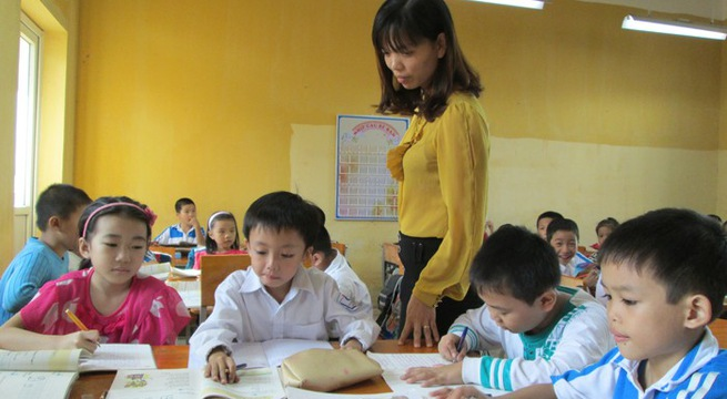 Nhiều nơi thưởng Tết cho giáo viên chỉ mang tính động viên. Ảnh minh họa giadinh.net.vn